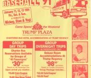 1991 big league promotions flyer