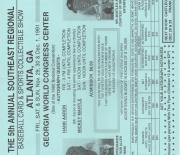 1991 flyer, bob pressley sports enterprises