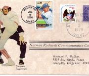 2006 norman rockwell 02/03/1978 postmark