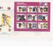 1988 grenada FDC large envelope 11/28