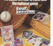 1985 baseball hall of fame magazine