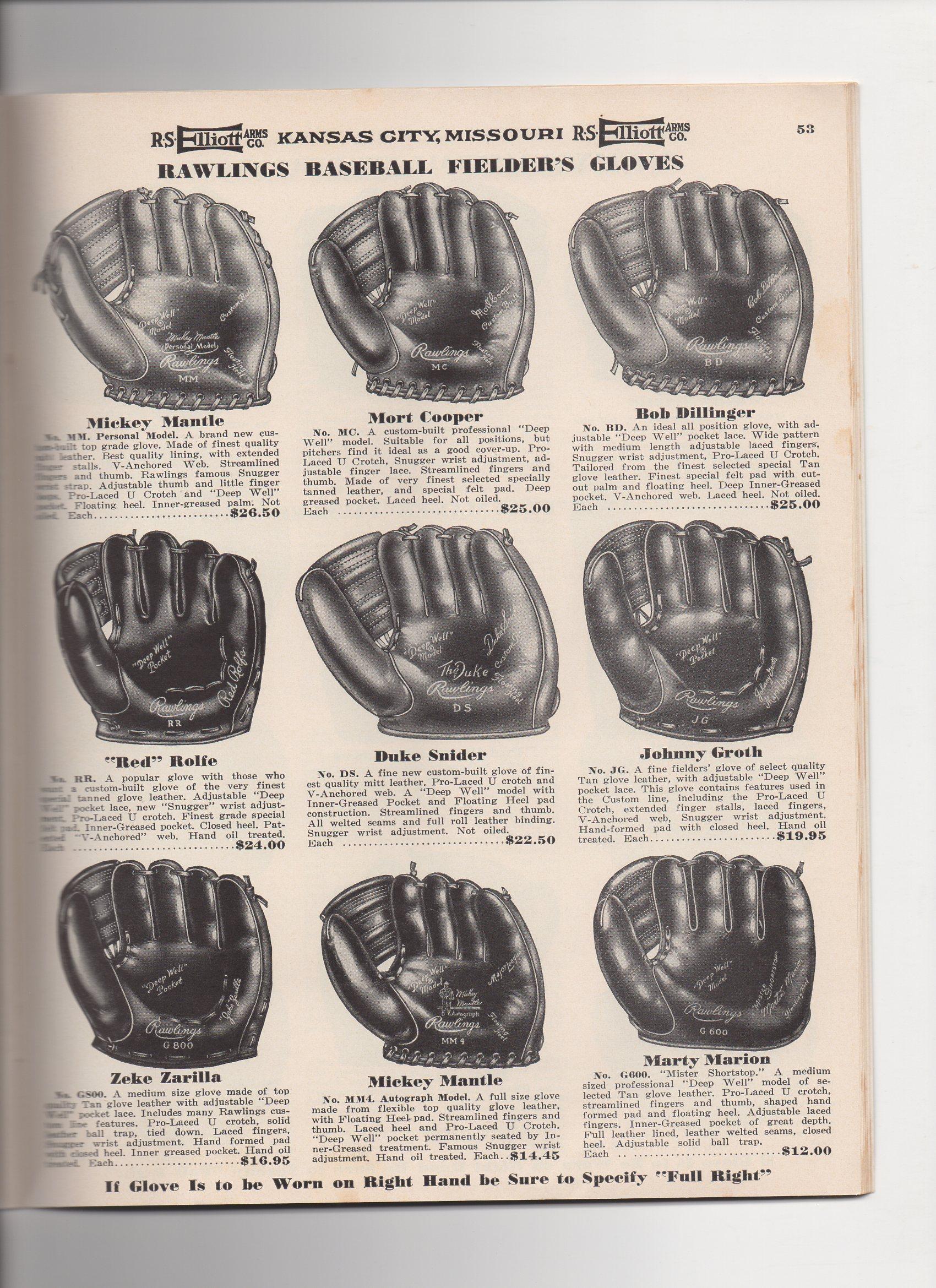 1954 elliott catalog, spring and summer, no. 101