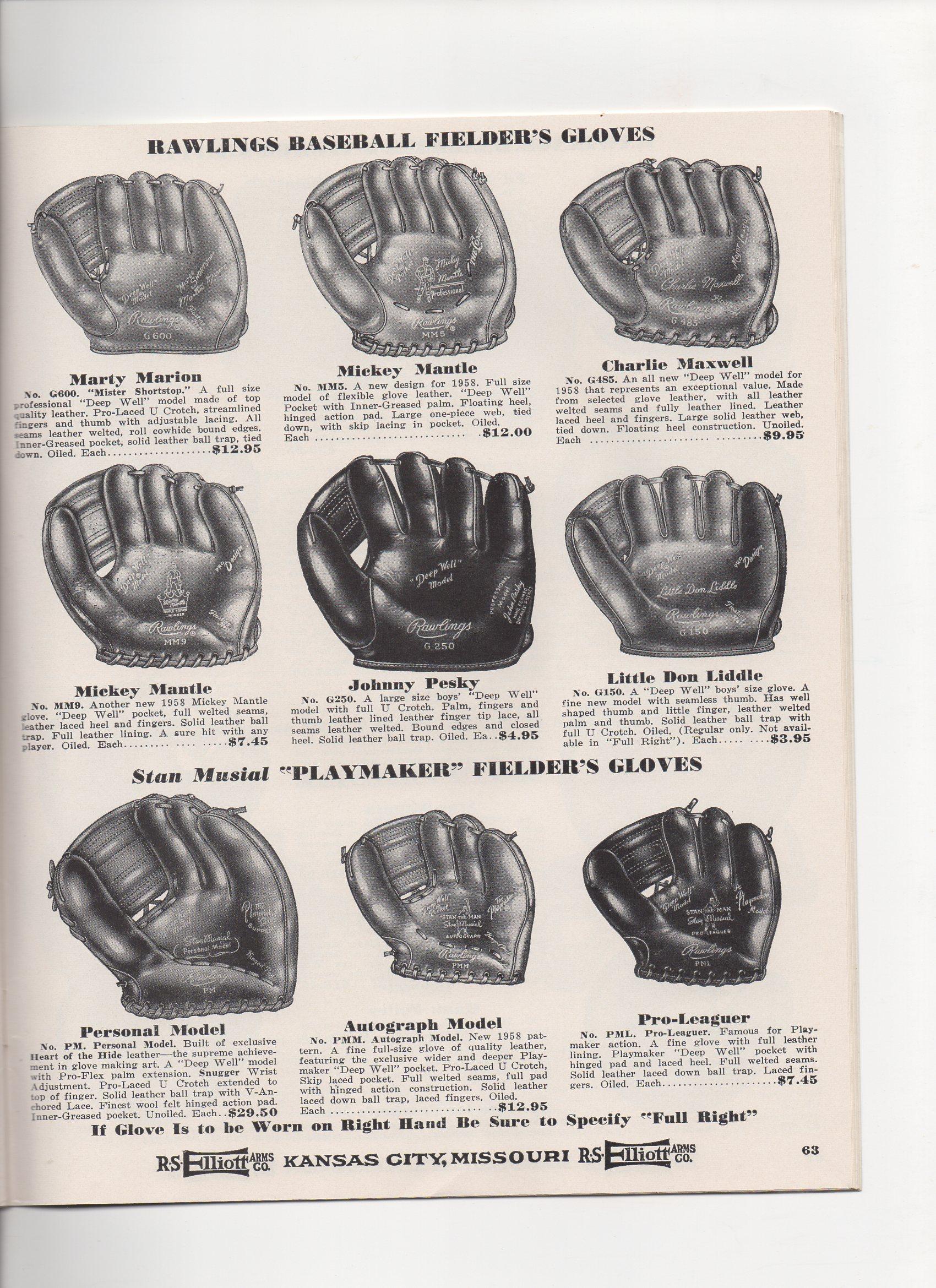 1958 elliott catalog, spring and summer, no. 109