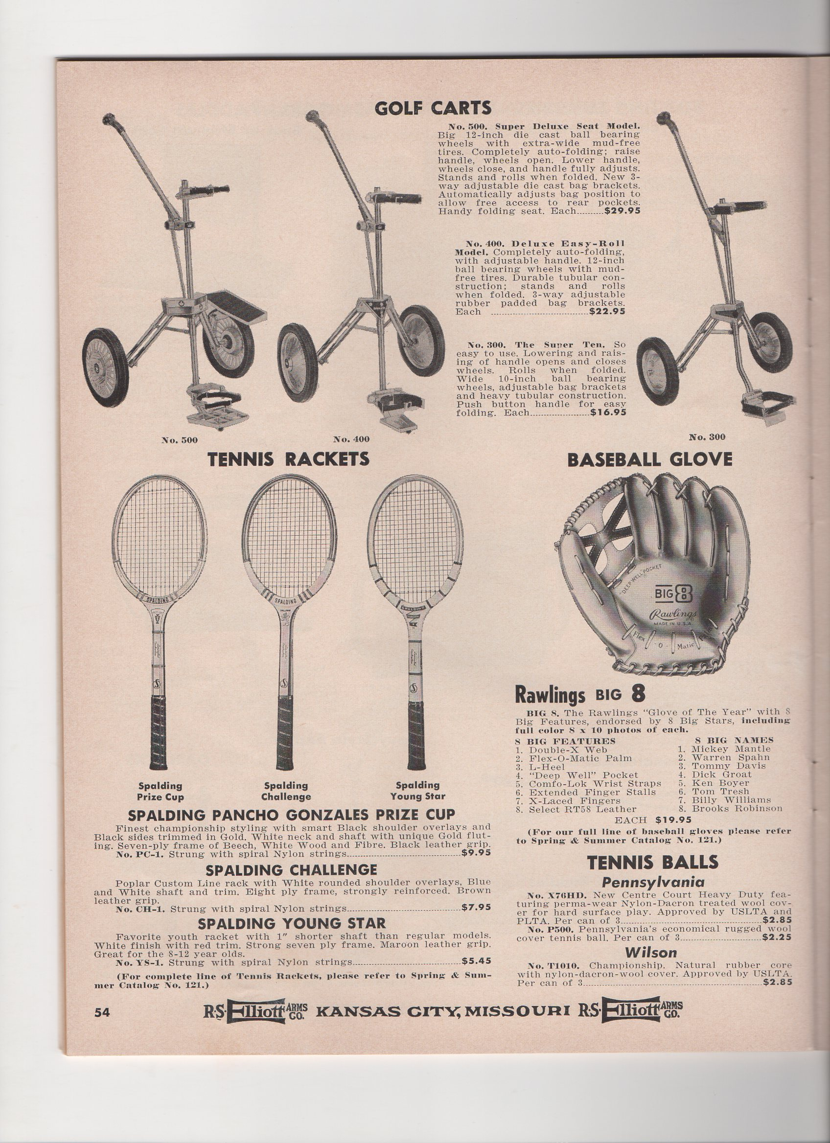 1964 elliott catalog, fall and winter, no. 122