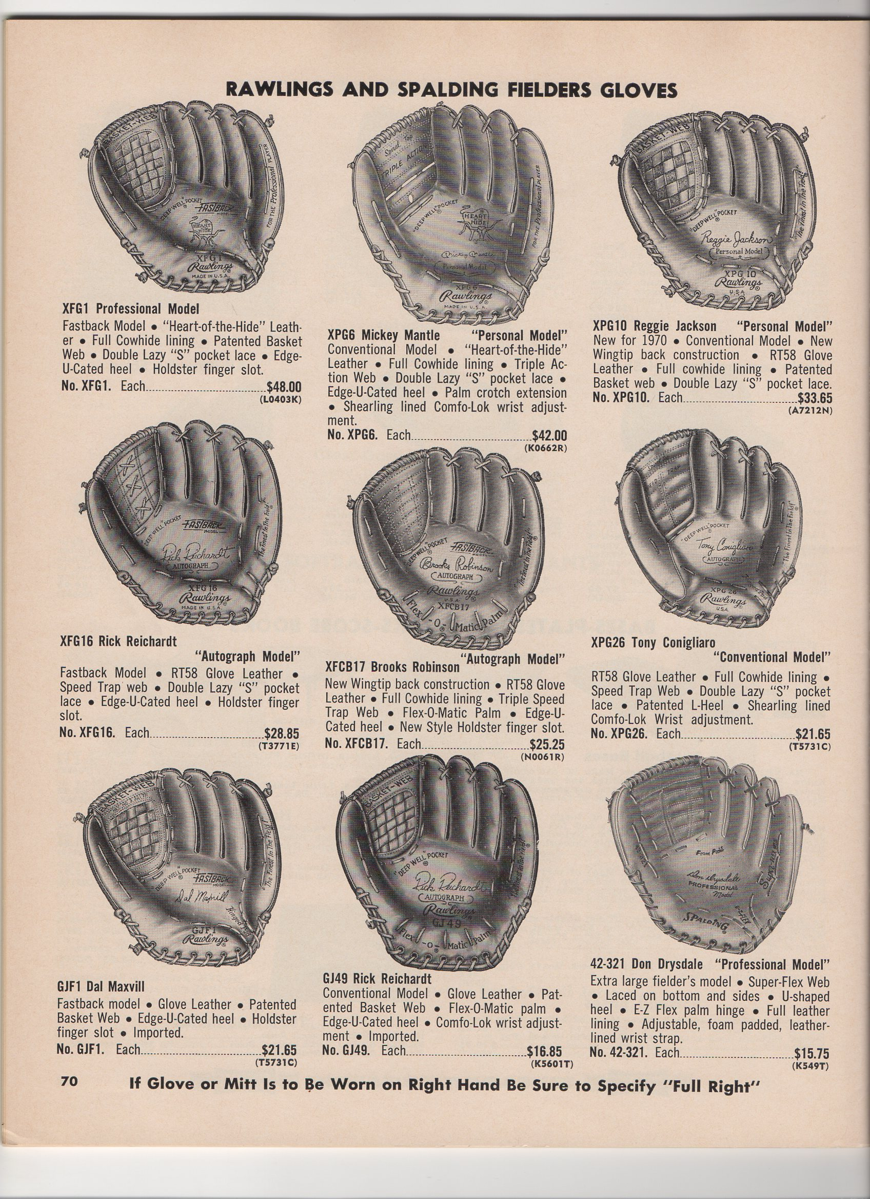 1970 elliott catalog, spring and summer, no. 133
