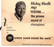 1960 era megaphone tag