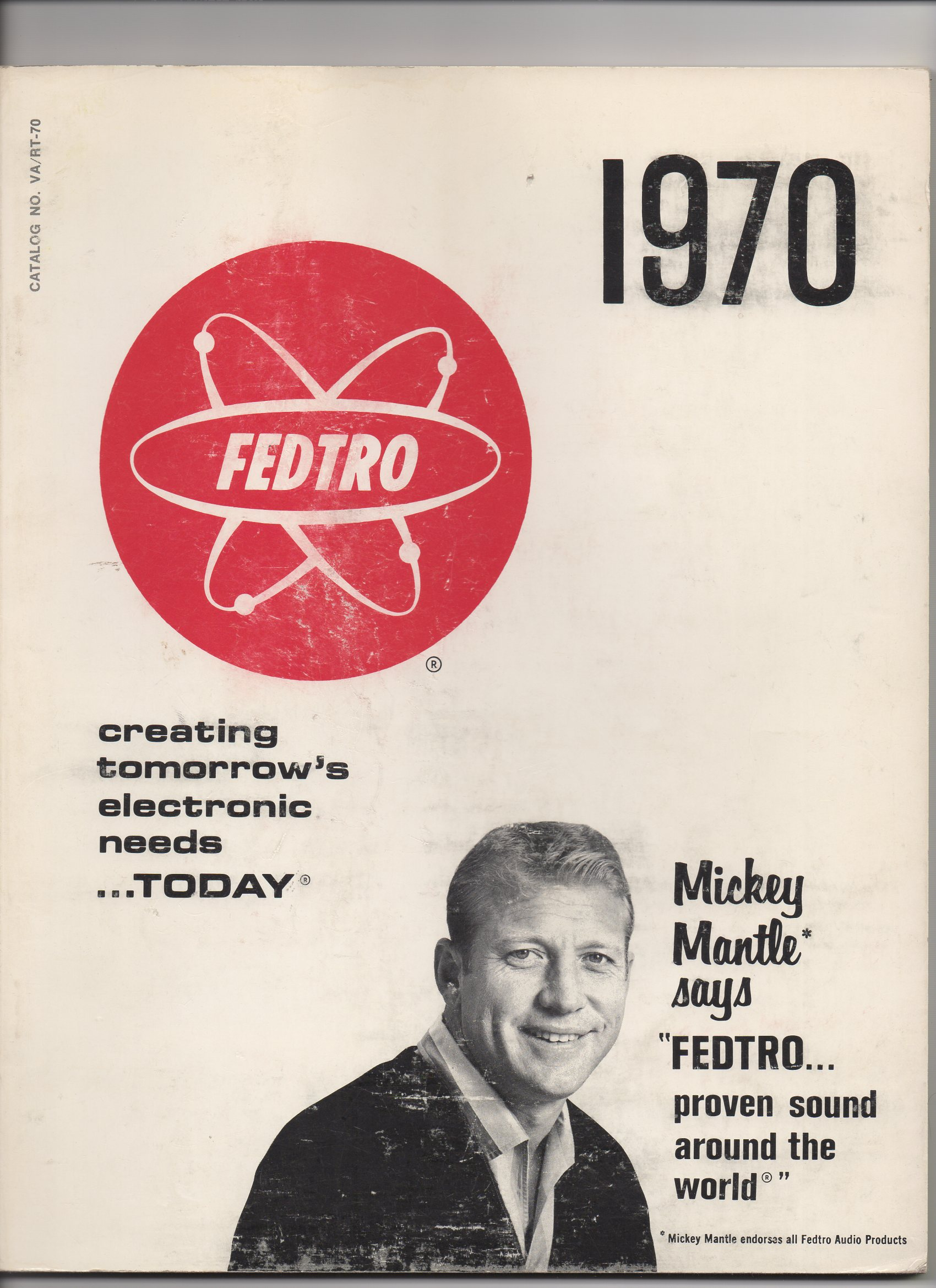 1970 fedtro catalog, no. va/rt-70