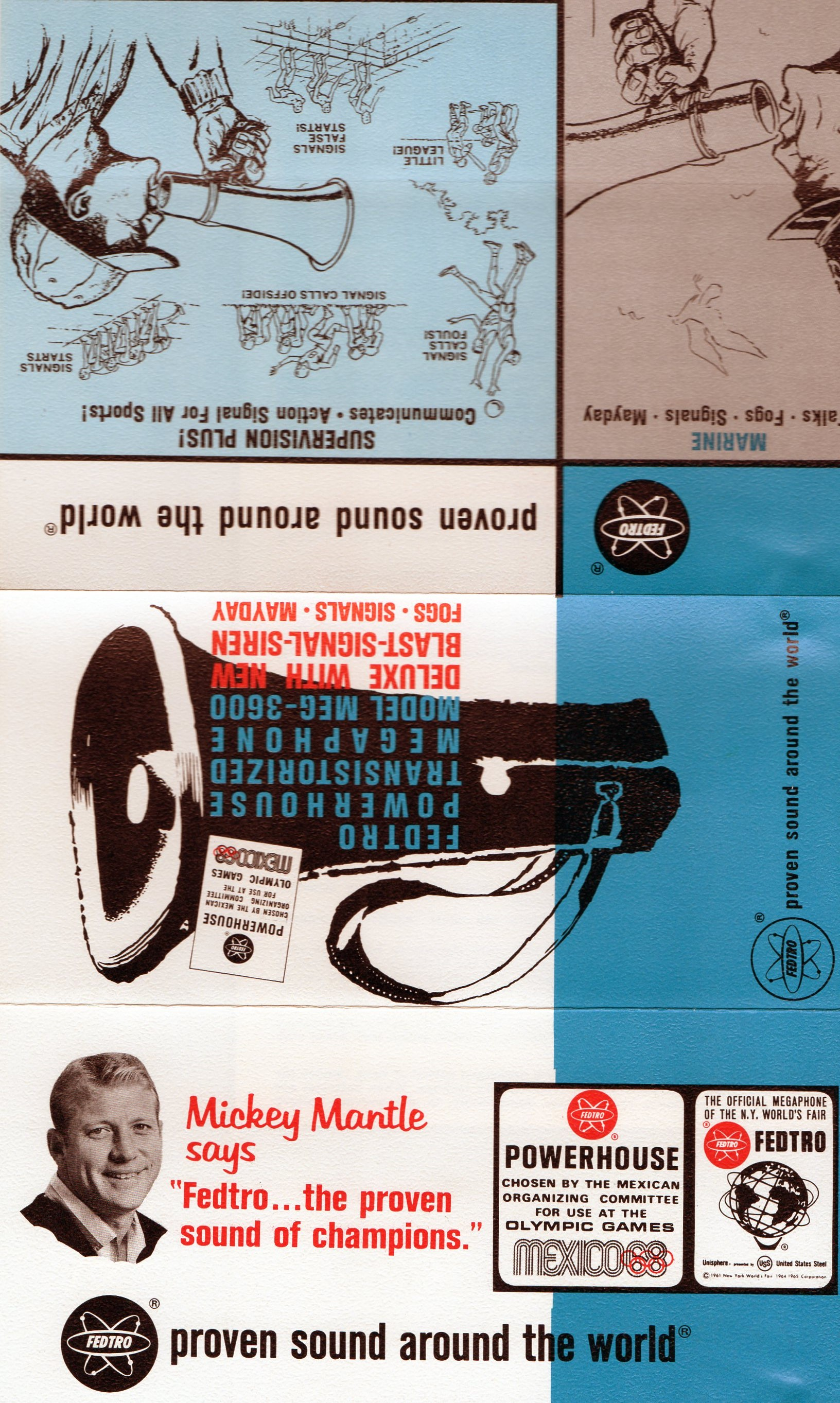 1969-71 megaphone brochure