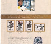 greats of the game yankees clippings