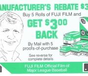 1987 fuji manufactures rebate
