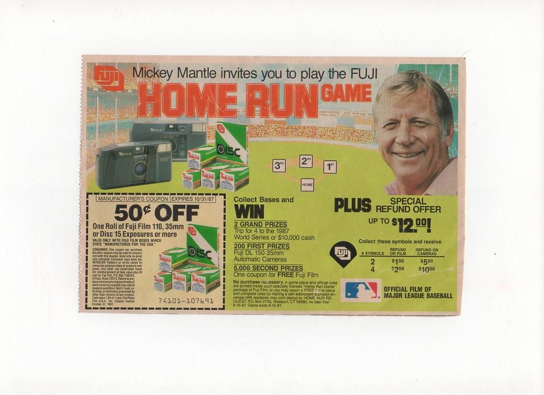 1987 fuji, magazine ad