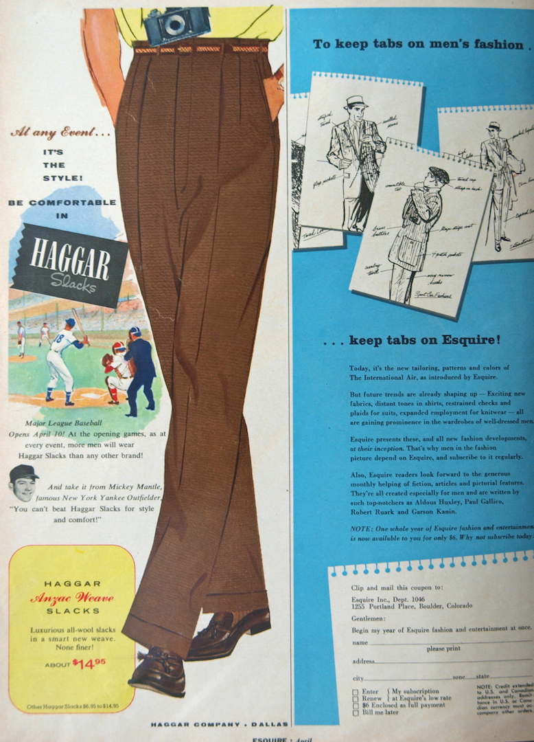 1950 era esquire magazine