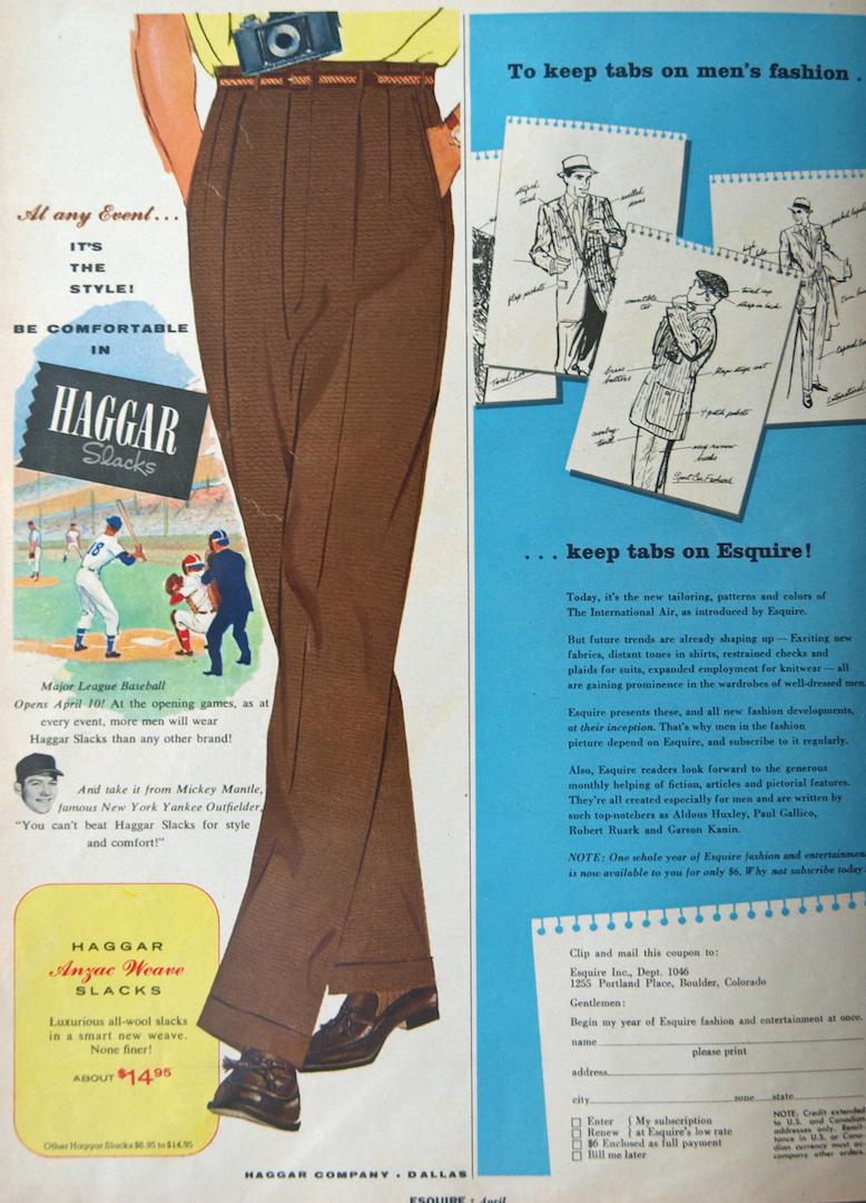 1950 era esquire magazine