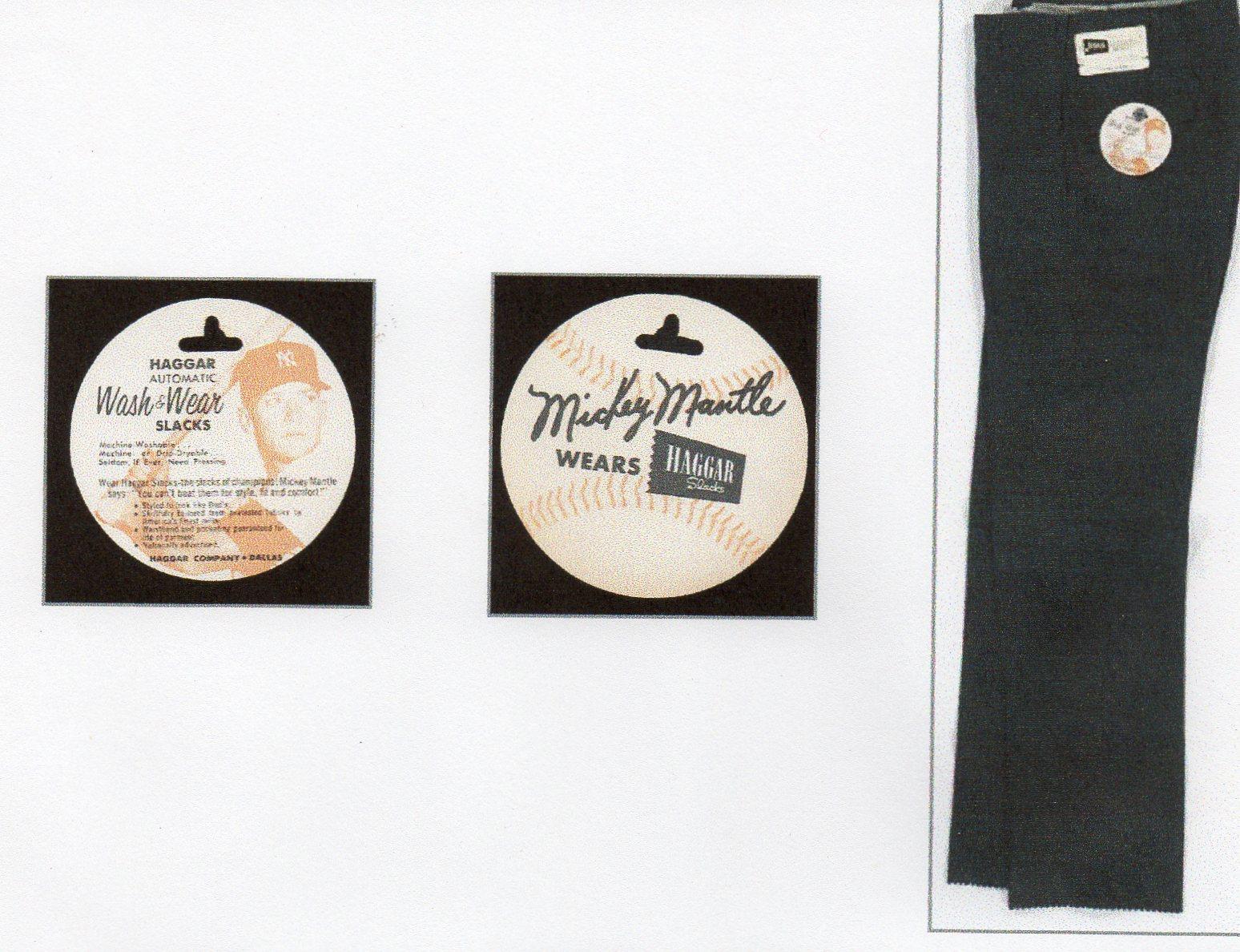 1958 haggar slacks tag