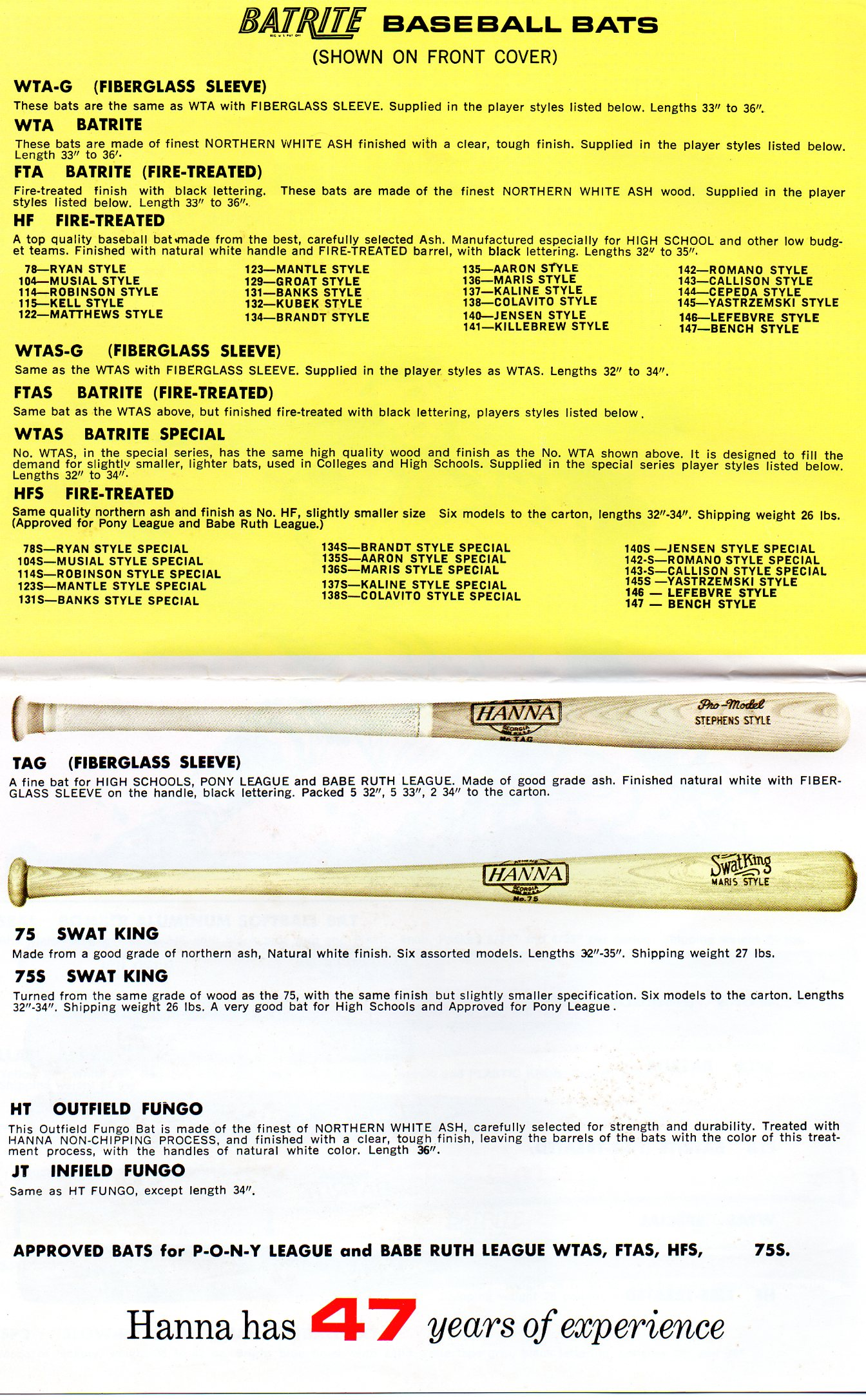 1973 hanna-batrite catalog