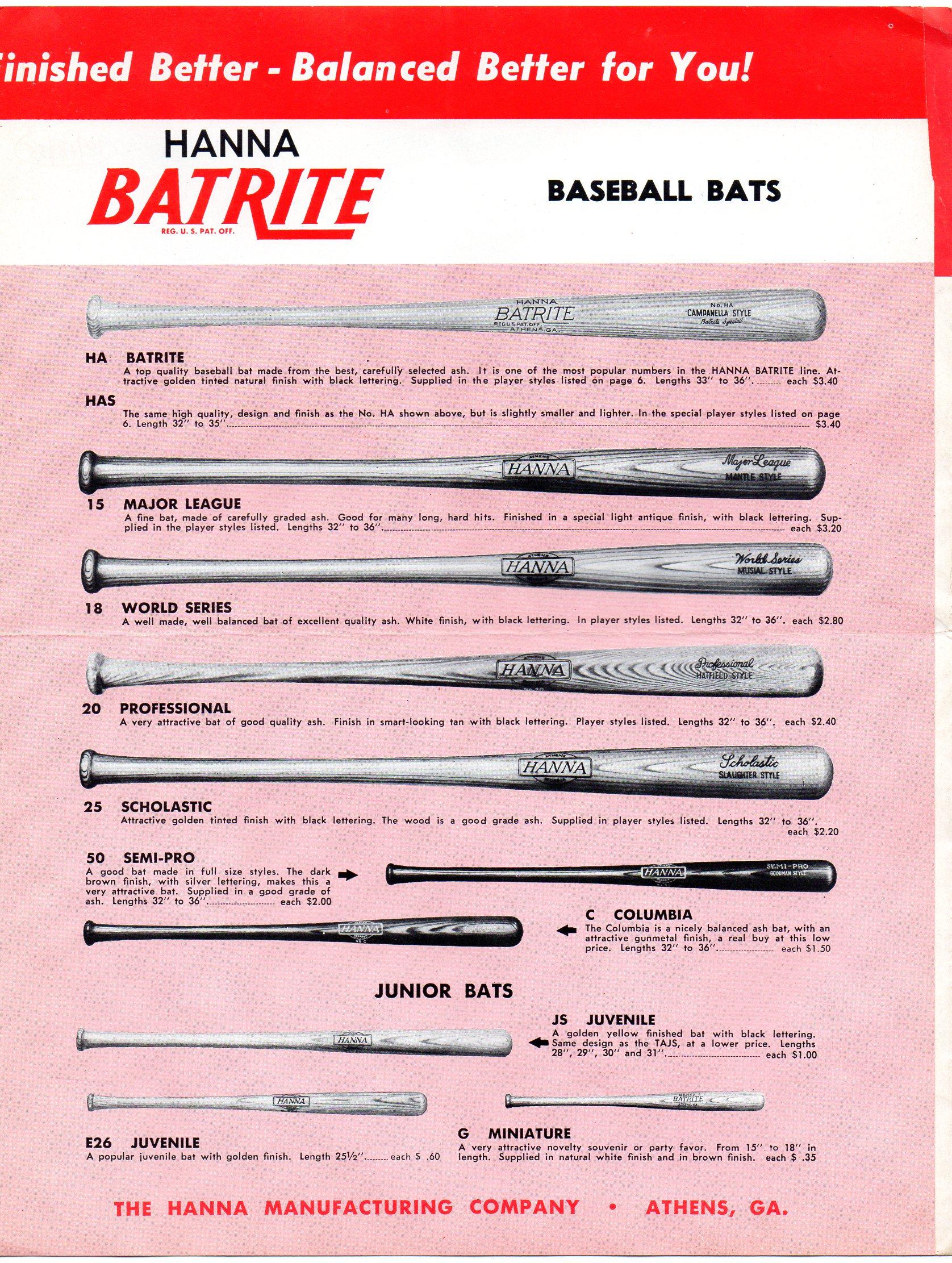 1956 hanna-batrite catalog