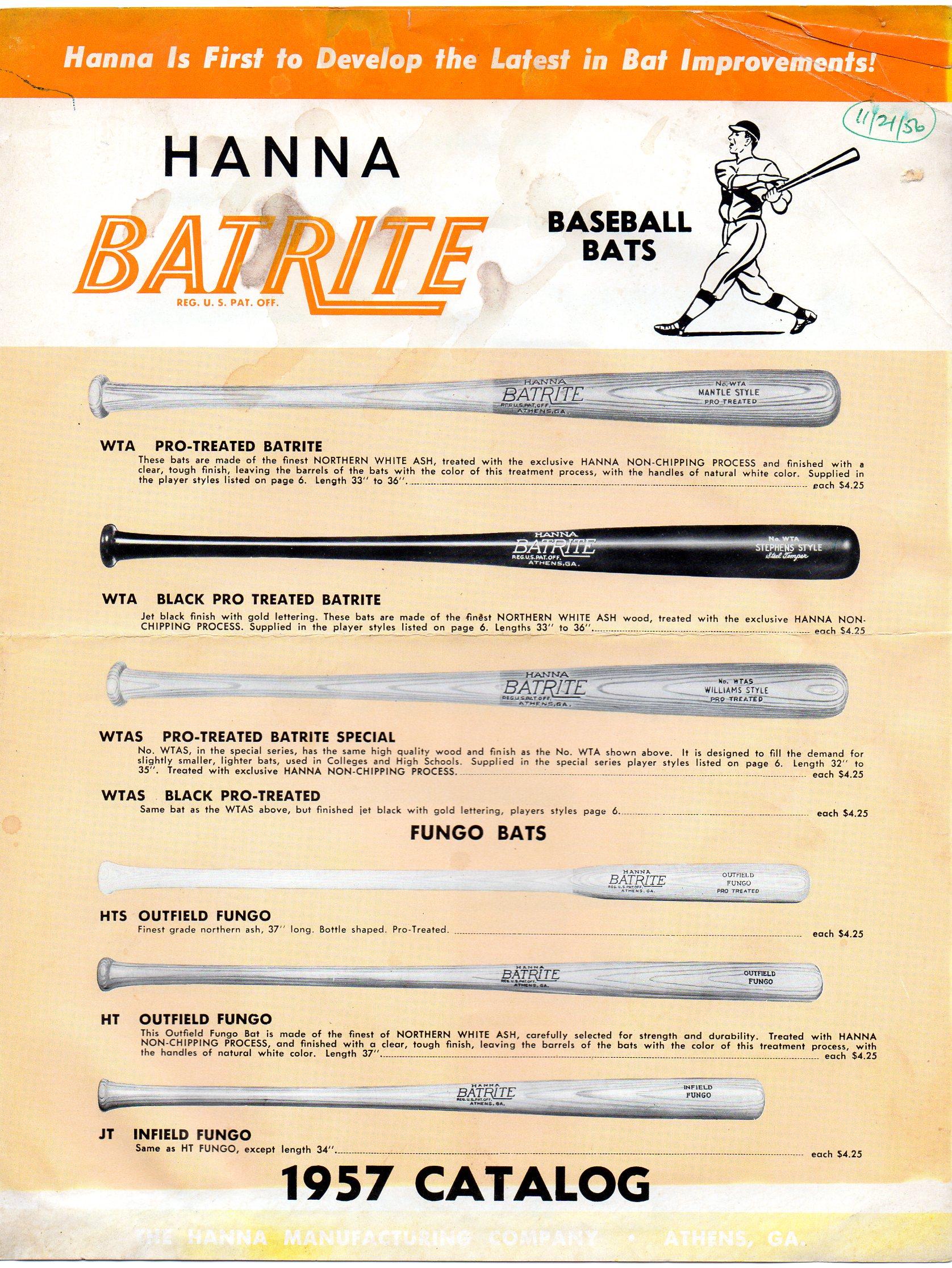 1957 hanna-batrire catalog