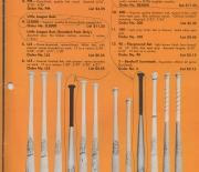 1972 hutch catalog annual, mantle bat showing