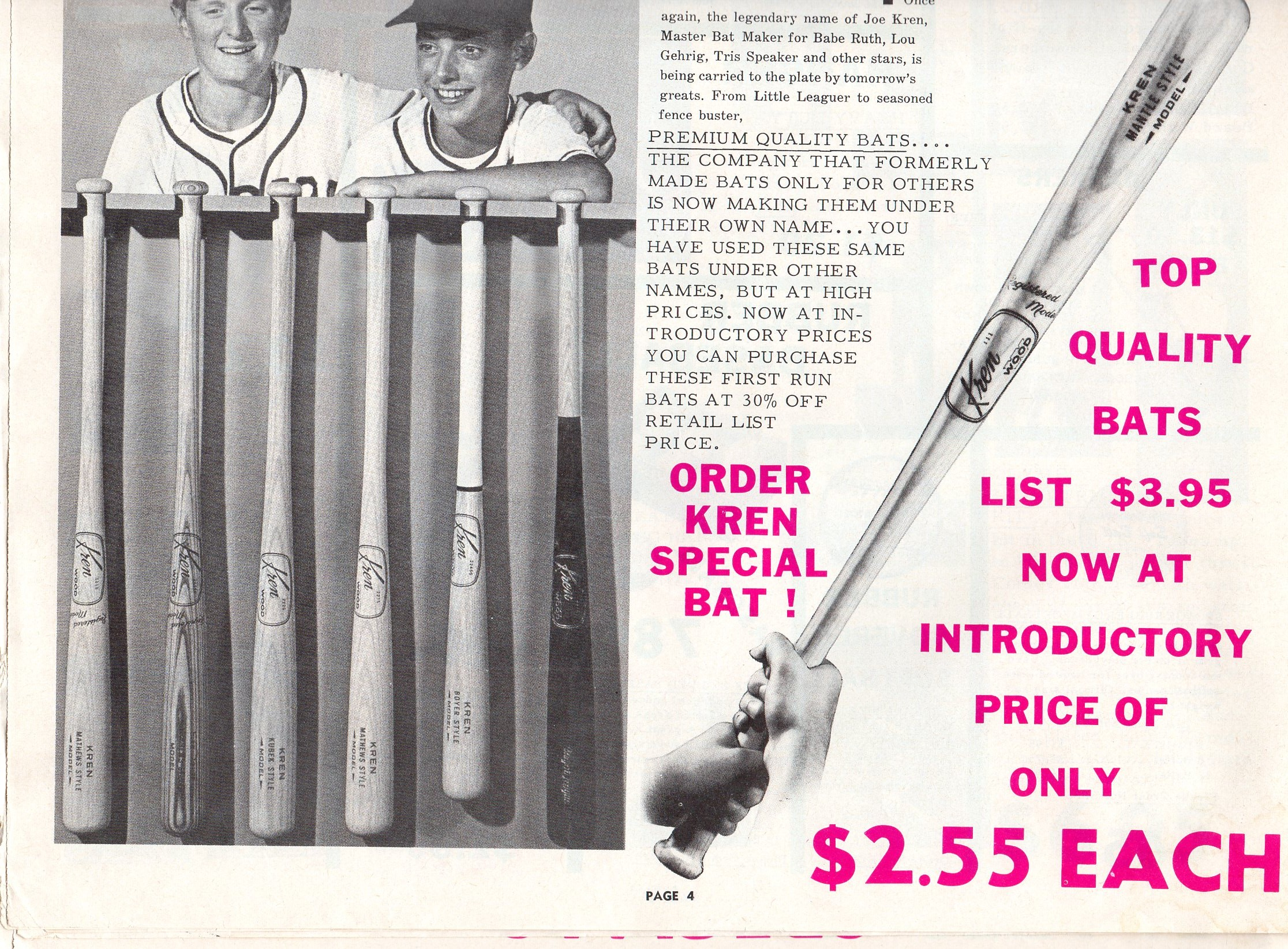 1964 wolverine sports mailer