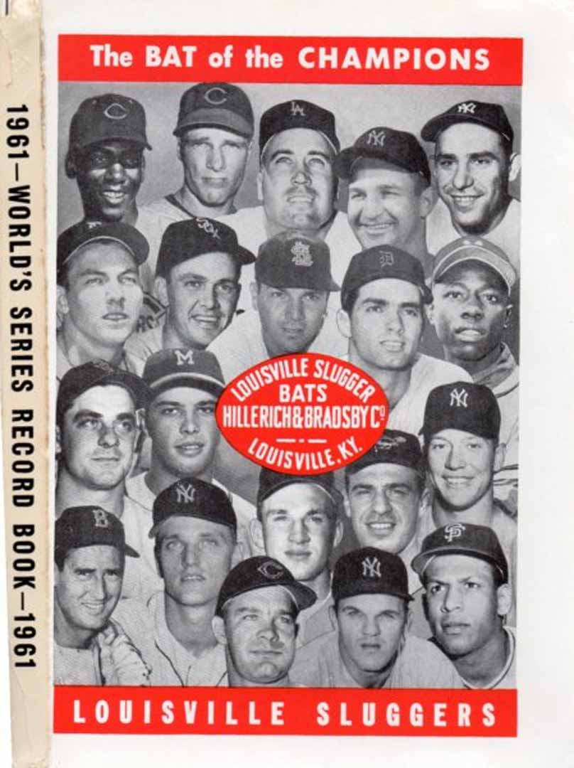 1961 world series record book