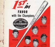 1956 baseball register