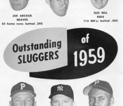 1960 famous sluggers