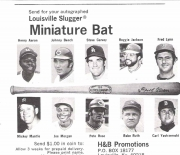 1977 h and b famous sluggers