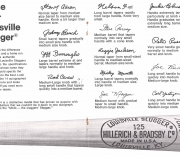 1976 louisville famous sluggers