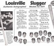 1971 louisville famous sluggers
