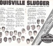 1970 louisville famous sluggers