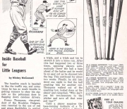 1955 little leaguer magazine april