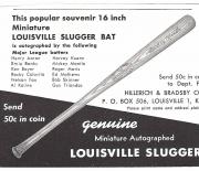 1961 louisville sluggers