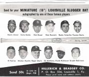 1963 louisville sluggers