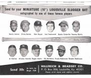 1964 louisville sluggers