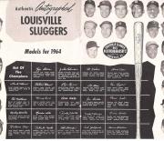 1964 louisville famous sluggers