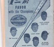 1956 baseball rules