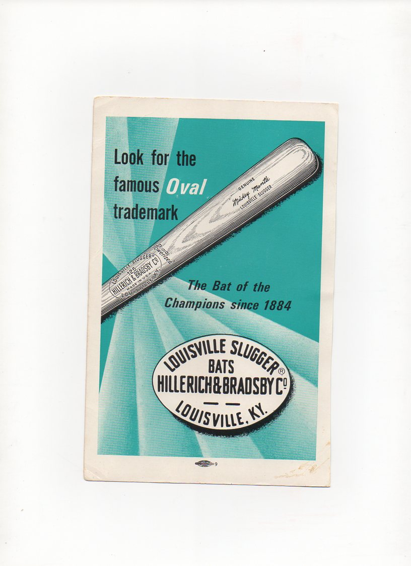 1966 official baseball annual