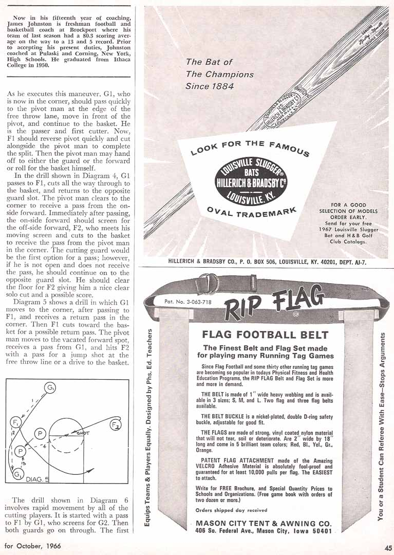 1966 athletic journal
