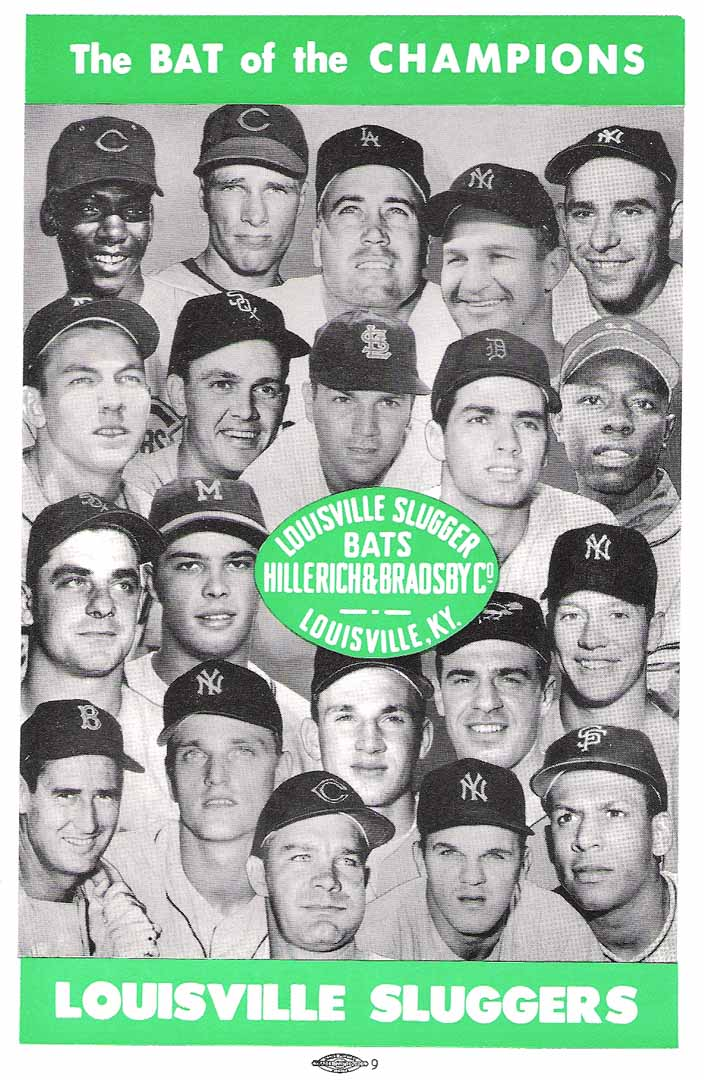 1961 official baseball annual non pro
