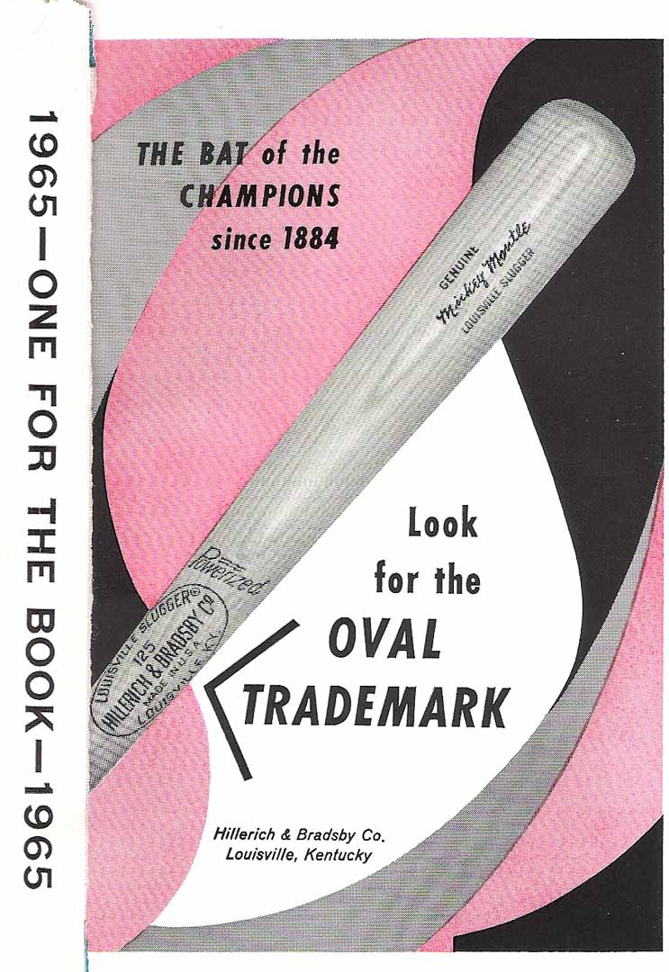 1965 sporting news one for the book