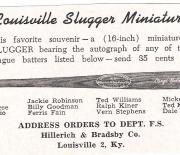 1953 famous slugger