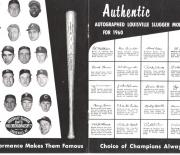 1960 louisville slugger magazine