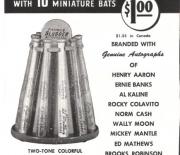 1962 H and B famous sluggers