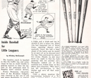 1955 little leaguer magazine april