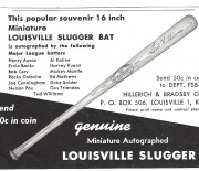 1960 louisville famous sluggers