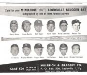 1962 louisville sluggers