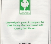 1991 loma linda charity golf classic