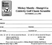 1992 Shangia-la , october 2,3,4