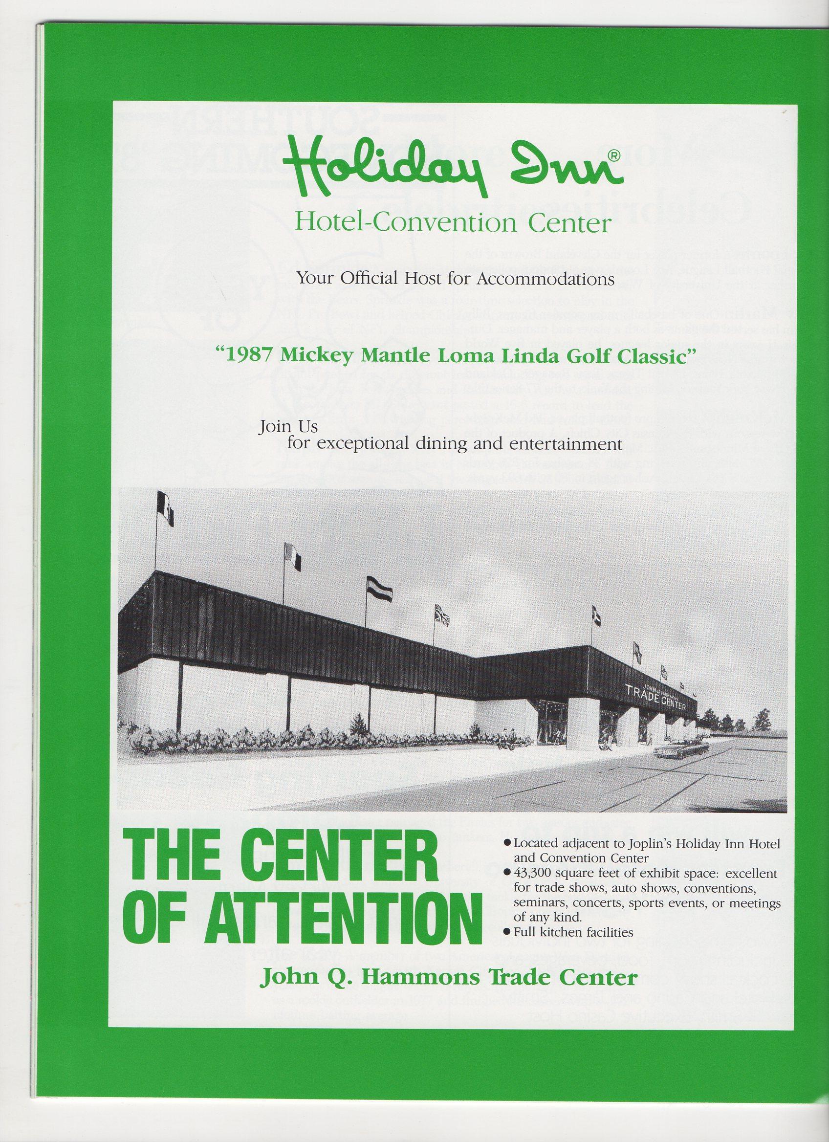1987 loma linda charity golf classic