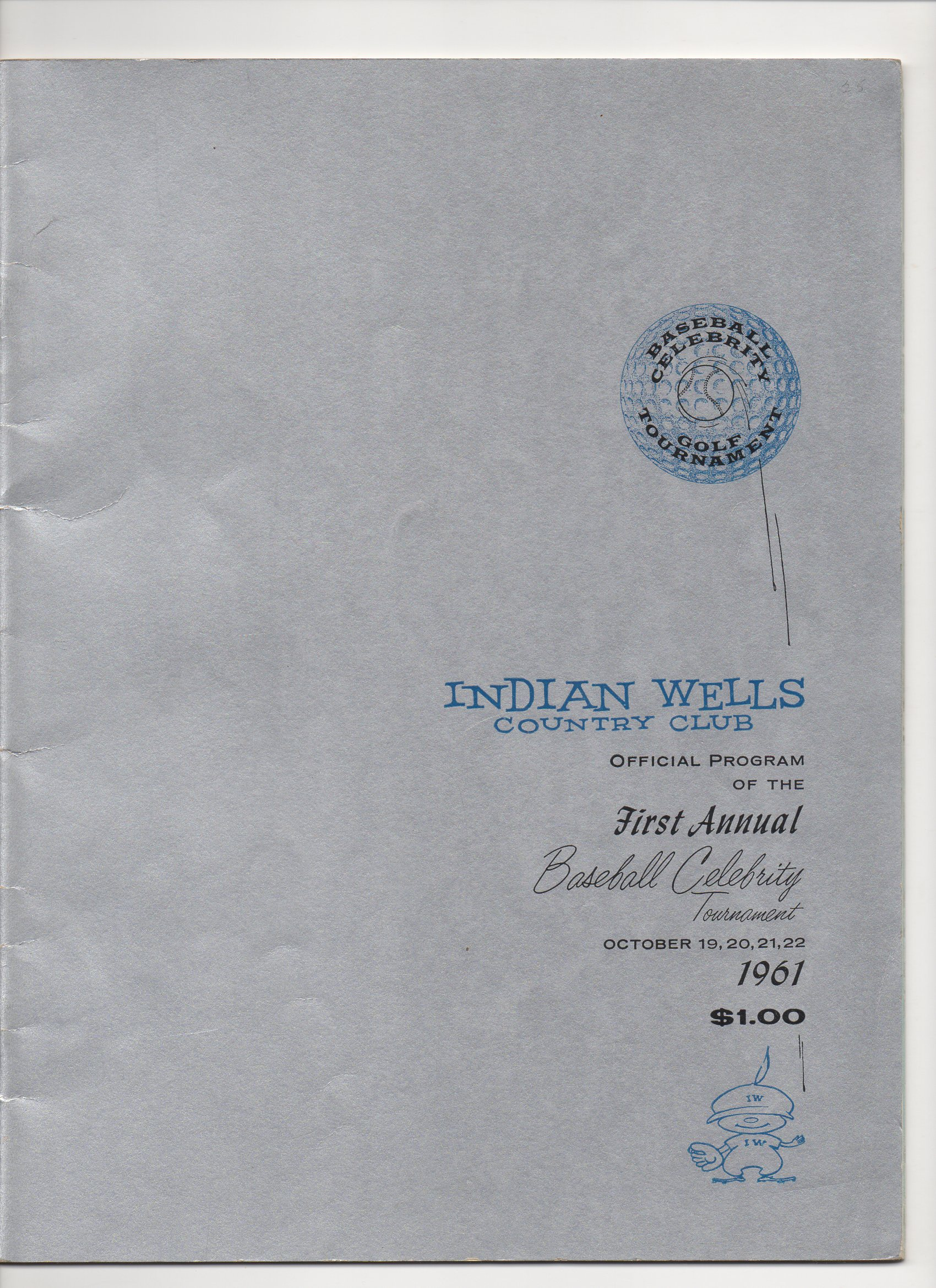 1961 indian wells first annual baseball celebrity tournament
